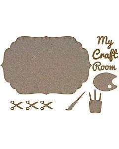 Door Sign Kits: My Craft Room