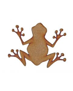 Frog MDF Laser Cut Craft Blanks in Various Sizes