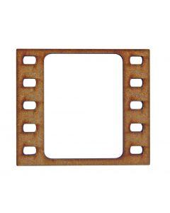 Filmstrip MDF Laser Cut Craft Blanks in Various Sizes
