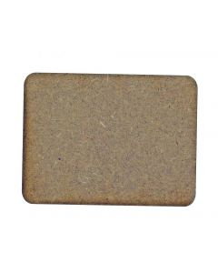 Rectangle MDF Laser Cut Craft Blanks in Various Sizes