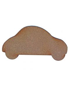 Car MDF Laser Cut Craft Blanks in Various Sizes
