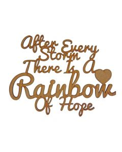 Quotes: Rainbow of Hope (150mm x 116mm)