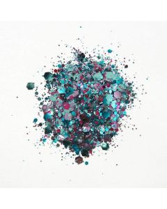 Cosmic Shimmer Biodegradable Glitter Mix Blue Opal
