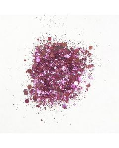 Cosmic Shimmer Biodegradable Glitter Mix Pink Fizz