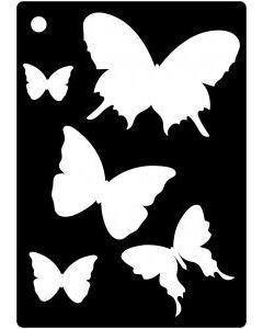 Creative Expressions Mini Stencil Butterfly Splash