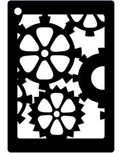 Creative Expressions Mini Stencil Cogs