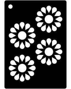 Creative Expressions Mini Stencil Daisy Wheels