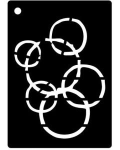 Creative Expressions Mini Stencil Luna