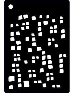 Creative Expressions Mini Stencil Mini Squares