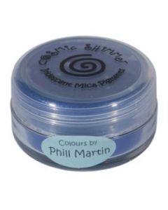 Phil Martin Cosmic Shimmer Mica Powder Decadent Denim