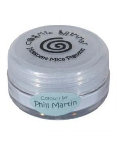 Phil Martin Cosmic Shimmer Mica Powder Grey Blue