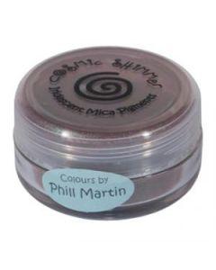 Phil Martin Cosmic Shimmer Mica Powder Decadent Oak