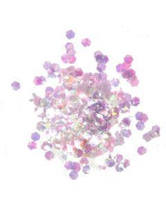 Cosmic Shimmer Glitter Jewels - Aurora Hexagons
