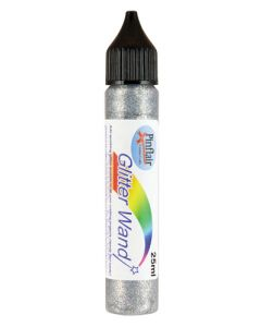 Pinflair Glitter Wand - Silver