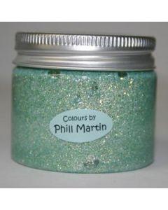 Phill Martin CS Sparkle Texture Paste Frosty Jade