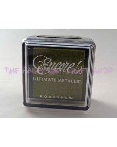 Metallic Honeydew Small Pad