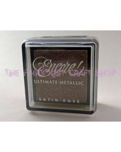 Metallic Satin Rose Small Pad