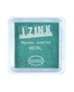 Izink Pigment - Metal Green 5 x 5 cm