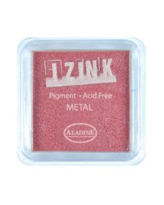 Izink Pigment - Metal Red 5 x 5 cm