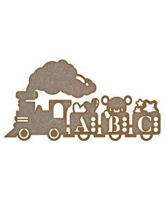 ABC Train - Medium - Pack of 10