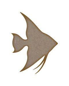 Angel Fish MDF Laser Cut Craft Blanks in Various Sizes