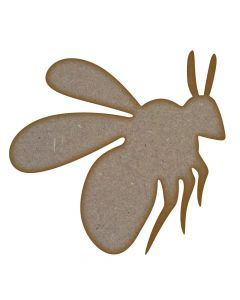 Bee 2 MDF Laser Cut Craft Blanks in Various Sizes