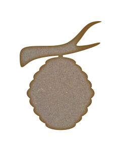 Beehive MDF Laser Cut Craft Blanks in Various Sizes