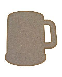 Beer Mug MDF Laser Cut Craft Blanks in Various Sizes