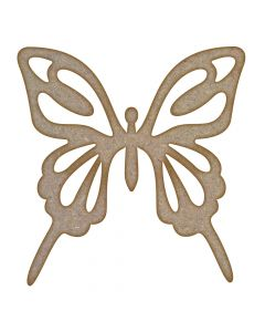 Butterfly (Design 5) MDF Laser Cut Craft Blanks in Various Sizes
