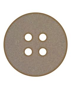 Button MDF Laser Cut Craft Blanks in Various Sizes