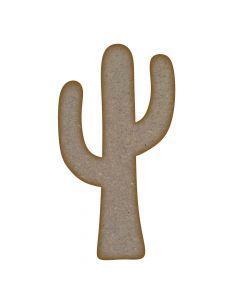 Cactus MDF Laser Cut Craft Blanks in Various Sizes