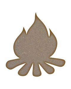Campfire MDF Laser Cut Craft Blanks in Various Sizes