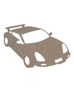 Car (Design 3) MDF Laser Cut Craft Blanks in Various Sizes
