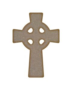 Celtic Cross MDF Laser Cut Craft Blanks in Various Sizes