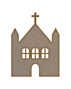 Church (Design 1) - Medium - Pack of 10