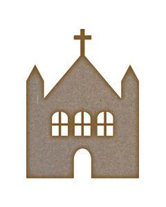 Church (Design 1) - Medium - Pack of 5