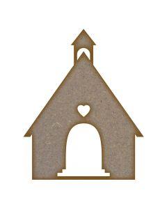 Church (Design 2) - Small (72mm x 90mm)