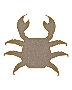 Crab MDF Laser Cut Craft Blanks in Various Sizes