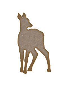 Deer / Doe - MDF Laser Cut Craft Blanks in Various Sizes