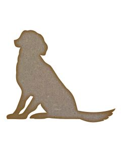 Dog MDF Laser Cut Craft Blanks in Various Sizes