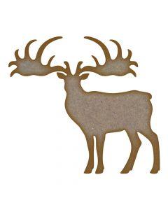 Elk MDF Laser Cut Craft Blanks in Various Sizes
