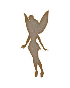Fairy (Design 10) MDF Laser Cut Craft Blanks in Various Sizes
