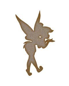 Fairy (Design 11) MDF Laser Cut Craft Blanks in Various Sizes