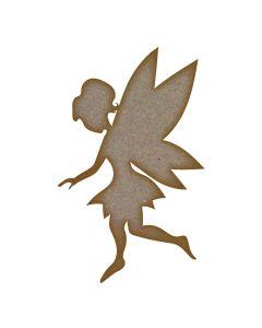 Fairy (Design 3) - MDF Laser Cut Craft Blanks in Various Sizes