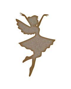 Fairy (Design 4) - MDF Laser Cut Craft Blanks in Various Sizes