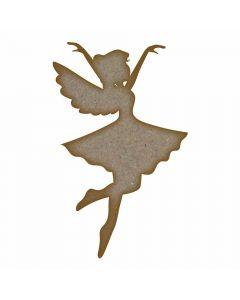 Fairy (Design 5) - MDF Laser Cut Craft Blanks in Various Sizes