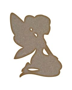 Fairy (Design 6) - MDF Laser Cut Craft Blanks in Various Sizes