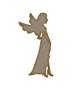 Fairy (Design 8) - MDF Laser Cut Craft Blanks in Various Sizes