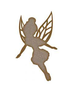 Fairy (Design 9) MDF Laser Cut Craft Blanks in Various Sizes
