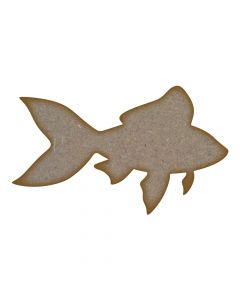 Fish MDF Laser Cut Craft Blanks in Various Sizes